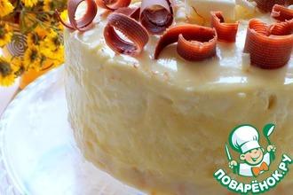 Рецепт: Торт Творожное чудо