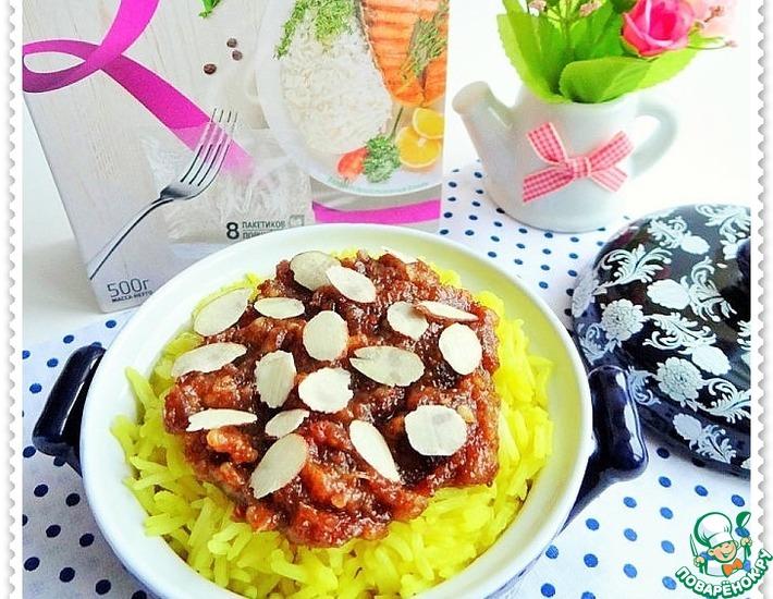 Рецепт: Рис с финиками и миндалем