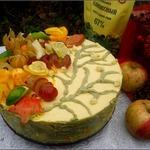 Воздушный торт с тыквенно-сливочным кремом