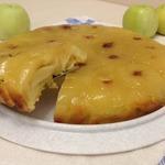 Янтарный яблочный пирог