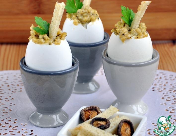 Рецепт: Воздушная яичная кашка с трюфелем