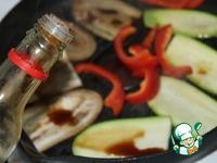 Теплый тайский салат из риса с овощами ингредиенты
