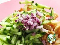Салат с копчёным кальмаром ингредиенты