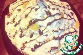 Рецепт: Домашний торт Санчо-Панчо