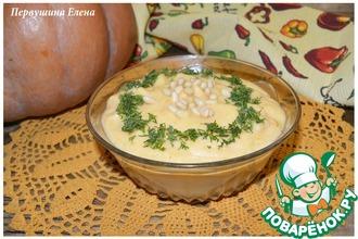 Рецепт: Тыквенно-картофельный крем-суп