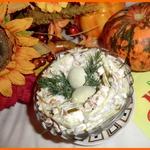 Салат Гнездо ласточки