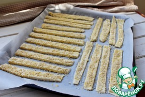 Творожные палочки – кулинарный рецепт