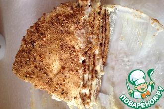 Рецепт: Медовый торт Тающий во рту