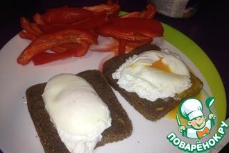 Рецепт: Яйцо-пашот на завтрак