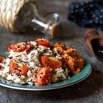 Рис с соусом из перца