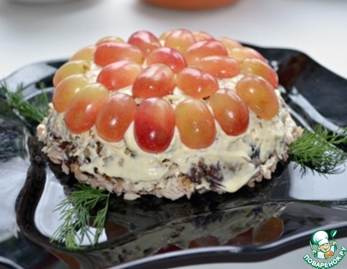 Рецепт: Салат с виноградом