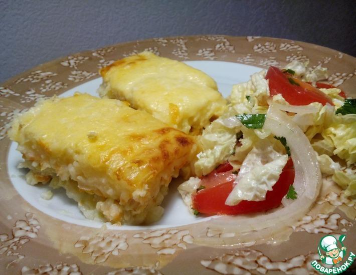 Рецепт: Запеканка картофельная со сливками