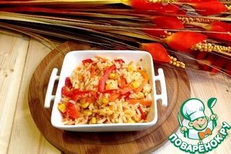 Рецепт: Острый рис А-ля по-мексикански