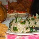 Заливное из рыбы с орегано Осенние мотивы