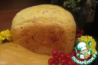 Рецепт: Хлеб тыквенно-майонезный