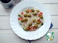 Рисовый салат с овощами ингредиенты