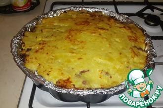 Рецепт: Картофельная запеканка по-домашнему