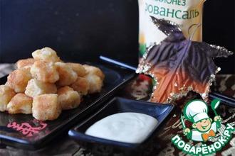 Рецепт: Морские гребешки с васаби-майонезом