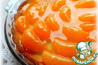 Рецепт: Тарт с мандаринами