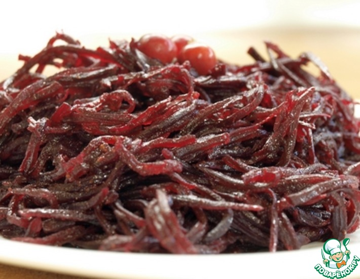 Свёкла по-корейски – кулинарный рецепт