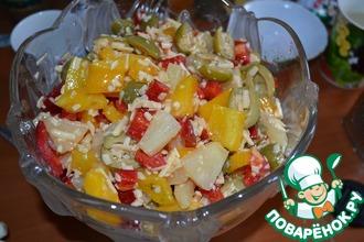 Рецепт: Испанский салат