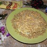 Салат из печени Дружный