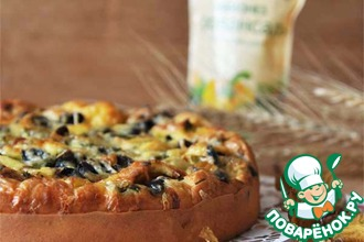 Рецепт: Ленивый помещичий пирог