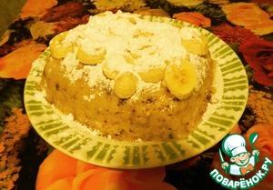 Банановый пирог в микроволновке рецепт с фото пошагово - 1000.menu