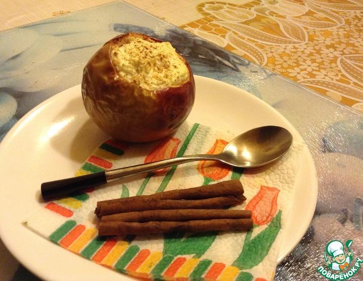 Рецепт: Печеные яблоки Даллас