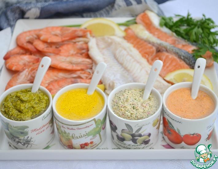 Рецепт: Соусы для рыбы и морепродуктов