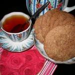 Шоколадно-кофейно-карамельное печенье