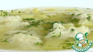 Рецепт Суп с галушками по-полтавски