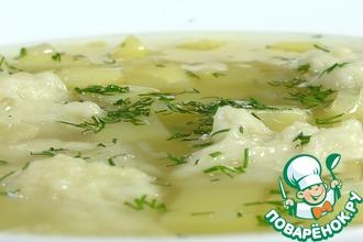 Рецепт: Суп с галушками по-полтавски