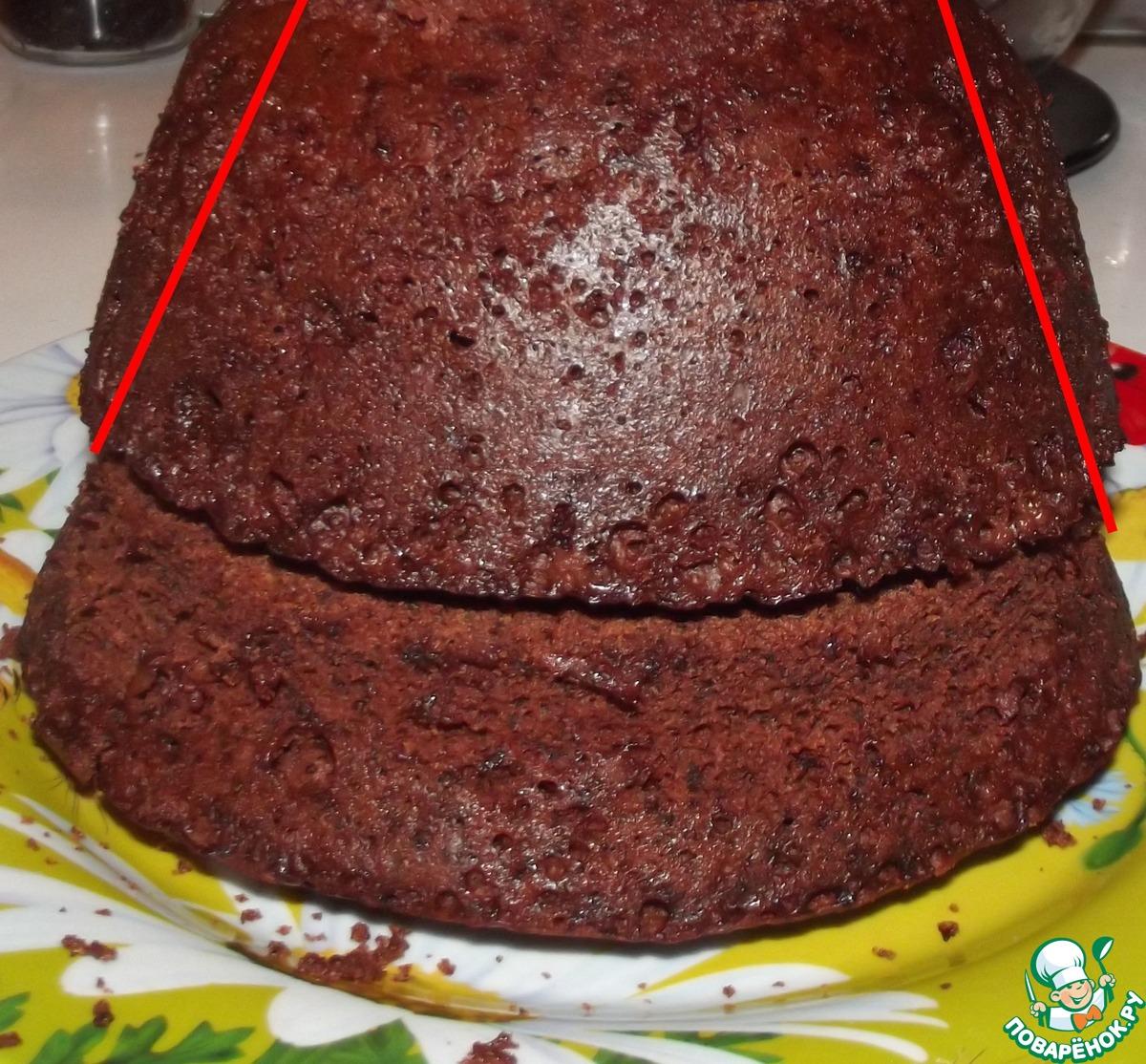 """Торт """"Монблан"""" в микроволновке"""