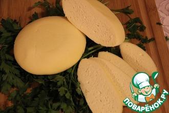 Рецепт: Сыр рассольный Коротинский домашний