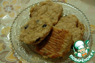 Рецепт: Ржано-овсяное печенье для людей с диабетом тип 2