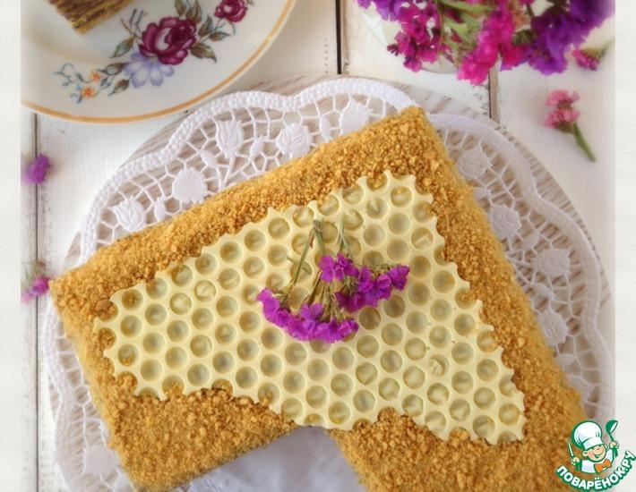 Рецепт: Торт медовый Кадриль