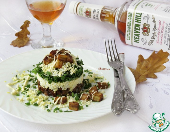 Рецепт: Салат а-ля «Монте-Карло»