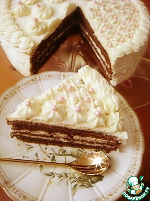 Сибирский черемуховый торт