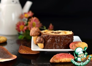 Рецепт: Печенье и рулет Осенние фантазии