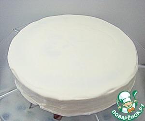 Торт черемуховый со сметаной. Рецепт классический пошаговый, как испечь в домашних условиях. Фото