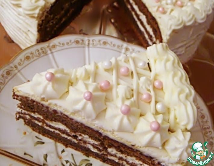 Рецепт: Сибирский черемуховый торт
