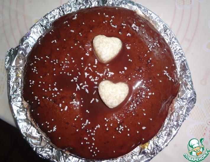 Рецепт: Бисквит шоколадный