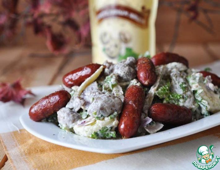 Рецепт: Немецкий охотничий салат