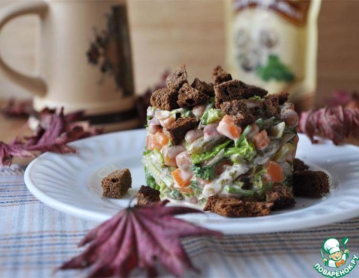 Рецепт: Немецкий пивной салат