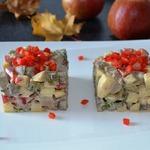 Салат Печень с яблоком