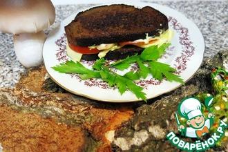 Рецепт: Горячие бутерброды из горячей испанской осени