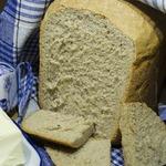 Ржаной хлеб с сушеной зеленью