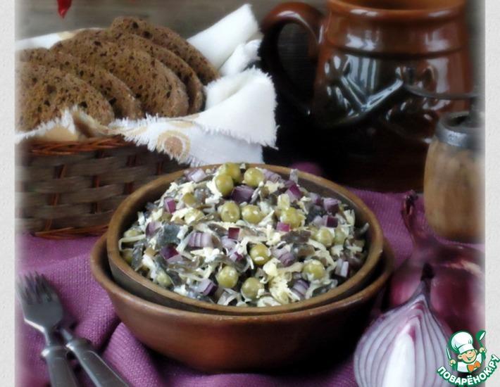 Рецепт: Салат «Славянский»