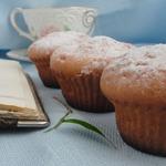 Творожно-лимонные кексы с шоколадной каплей
